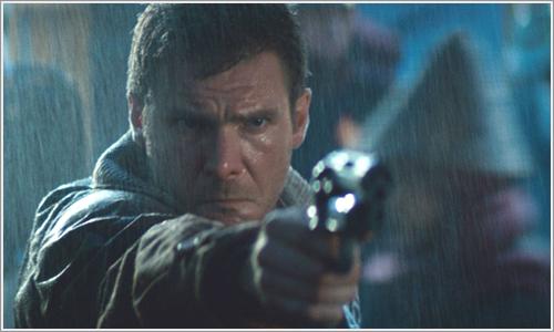 Harrison Ford en Blade Runner, dirigida por Ridley Scott.