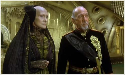 Escena de Dune, llevada al cine por David Lynch.