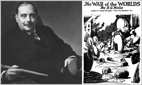 La Guerra de los Mundos, de H.G. Wells.