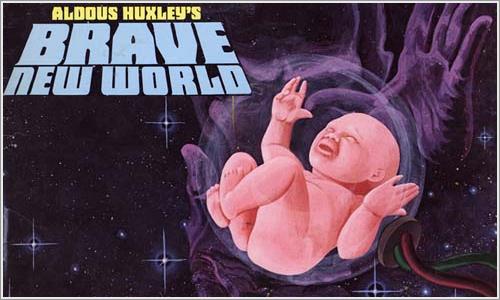 Un mundo feliz, de Aldous Huxley.