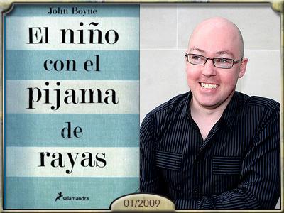 El niño con el pijama de rayas, John Boyne.
