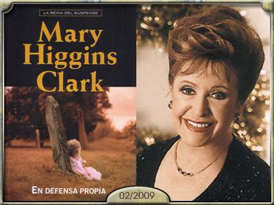 En defensa propia, Mary Higgins Clark.