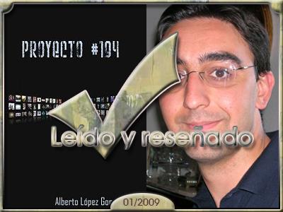 Proyecto #194, Alberto López González.