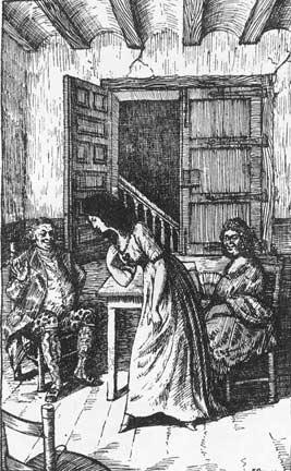 """""""El si de las niñas"""", primera edición ilustrada. Biblioteca Nacional, Madrid."""