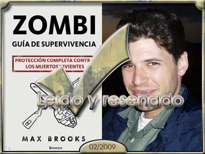 Zombi. Guia de supervivencia, Max Brooks