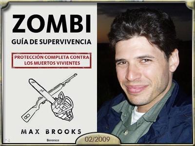 Zombi. Guia de supervivencia, Max Brooks.