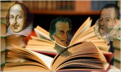 23-abril día del libro Cervantes Shakespeare Garcilaso