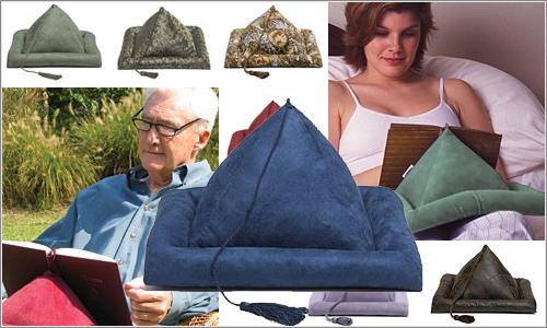 Lectoralhaken regalos para madres y padres lectores - Cojin lectura cama ...