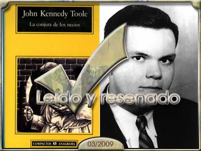 La conjura de los necios, John Kennedy Toole.