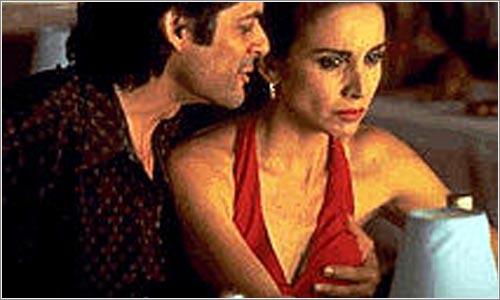 Desi y Yamán en una de las escenas de la película.