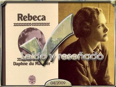 Rebeca, de Daphne du Maurier.