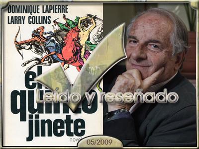 El quinto jinete, Dominique Lapierre.