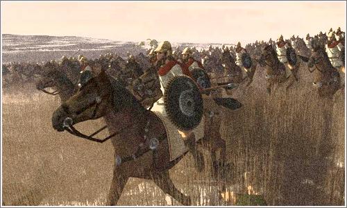 """Los """"hippeis"""", la caballería griega."""