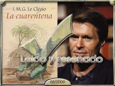 La cuarentena, de J.M.G.Le Clezio