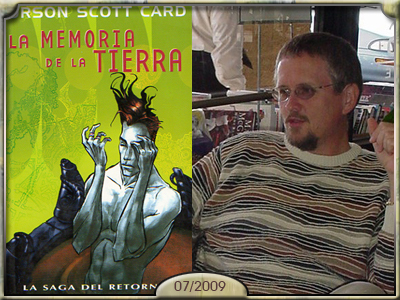 La memoria de la Tierra, Orson Scott Card.