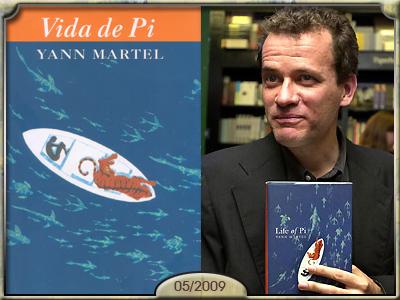 Vida de Pi, de Yann Martel