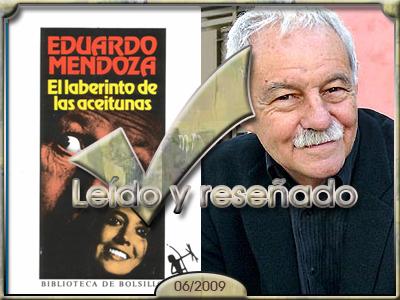 El Laberinto de las aceitunas, de Eduardo Mendoza