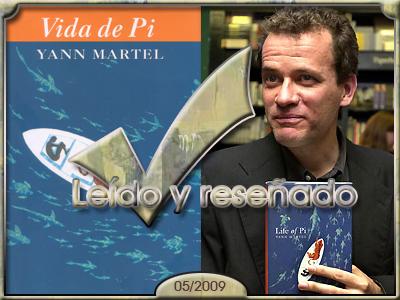 Vida de Pi de Yann Martel