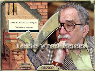 Noticia de un secuestro, de Gabriel Garcóa Márquez