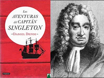 Las aventuras del Capitán Singleton, de Daniel Defoe.