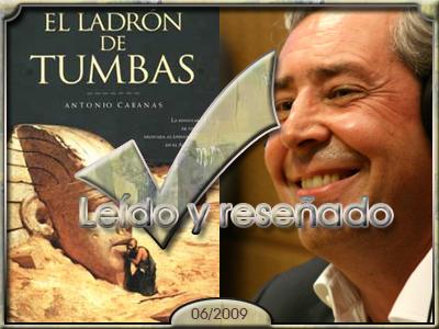 El ladrón de tumbas, Antonio Cabanas.
