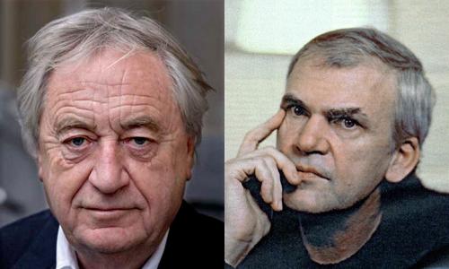 Cees Nooteboom y Milan Kundera