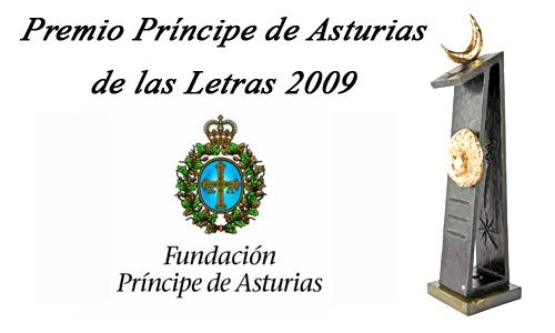 Príncipe Asturias Letras 2009