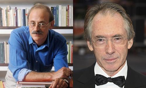 Antonio Tabucchi y Ian MacEwan